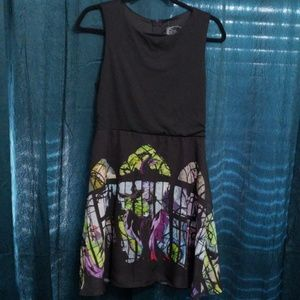 "Disney Maleficent ""Stained Glass"" Dress NWT"